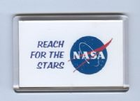 NASA Logo Fridge Magnets